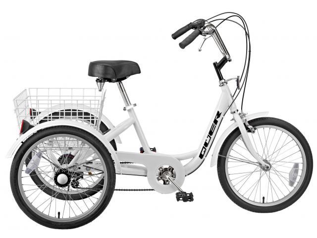 Triciclo de Trabajo Reforzado 6v Gomier/Quer