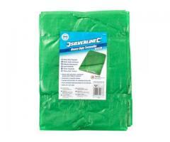 Lona,Toldo 2x3mt 140g/m² PE +Reforzada Proteccion UV c/Anillas