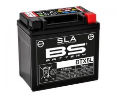 Bateria BS YTX5L|BTX5L 12v 4.2Ah 80A 113x70x105 AGM SLA MF