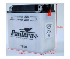 Bateria YB9-B|12N9-4B-1 12v130A 9.5Ah 135x75x139+i