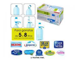 Dispensador Dosificador de Agua P/Garrafas y Botellas Higienico