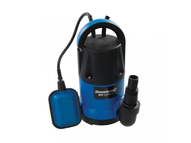 Bomba de Agua SILVERLINE Sumergible 5000l/h 6mtrs 250w c/Flotador