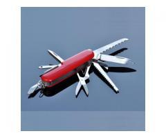 Navaja Suiza Multifuncion 11 Funciones 9cm Tipo Swiss Inox Victor Type