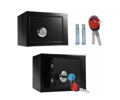 Caja Fuerte Caudales Seguridad Money Security Box 23x17x17.5cm