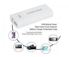 PowerBank Cargador Baterias 18650+Fuente Moviles iPhone 2xUSB