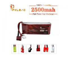 7,4v 2500Mah Lipo Battery Bateria RC Car,Helicopter,Drone PYLRC