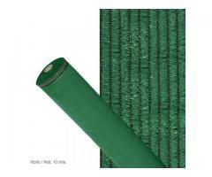 Malla Sombreo 90% Verde Claro Rollo 10mtr x 1 mt. Rafia Tejida