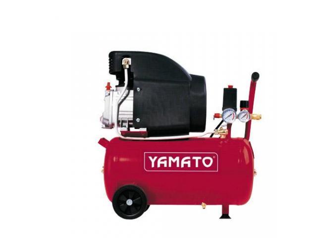Compresor 24Ltr. 2HP Lubricado c/Carter Aceite Refrig.+Valv Seg.