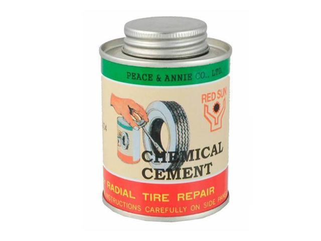 Disolución Parches Reparar Neumatico Rubber Solution Cement 250g
